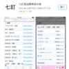 無料神アプリ「七訂」でいつでもどこでも糖質把握!日本食品標準成分表2015年版が詳細データまで全部見れる!
