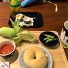 とうもろこしと枝豆ベーグル(ジュノエスク)