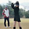 【可愛いゴルフウェア】韓国ではゴルフがきてる気がする