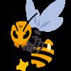 部屋のキッチンに住み着いた蜂🐝