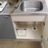 江別市 水道工事 アパート排水管高圧洗浄 トーラー作業