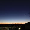 12月5日(水)晴れ、水星の西方最大離角