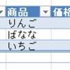 【Excel】テーブルを使うと表作成に便利だよっていうお話