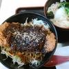 松乃家・田無南口店で、味噌ロースかつ丼550円税込。+110円でミニ冷やしうどんを付けられる。すごく美味しい。 #食探三昧 #松乃家