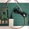 心拍センサ + Raspberry Pi(エッジ検出)