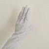 キッチン用の真っ白なゴム手袋を、買い替えました