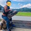 日本で恐竜の化石が見える公園。丹波竜にロマン感じる秋の休日。