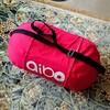 aiboの「あいちゃん」キャリーバッグ作って上げました