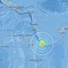 【地震】2018/08/29 3:51UTC、南太平洋ニューカレドニア島沖でM 7.1の地震発生