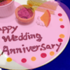 2018年、今年の結婚記念日も幸せでした!
