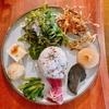殿堂入りのお皿たち その517【農民カフェさん の 野菜プレート】