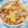山菜(筍+山うど)の炊き込みご飯