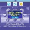 ホーム画面でPSボタンを押すと表示される広告を差し替え! IndexMenuMaker by Moody.b