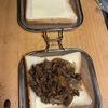 魚焼きグリルでホットサンドが出来るグリルホットサンドメッシュでホットサンド3種類を作りました。