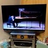 【自作・DIY】昔のコーナー置きテレビ台に大型液晶(有機EL)テレビを設置する方法