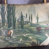 熊谷登久平の中学時代の絵
