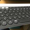 logicool K780 キーボードにコーヒーをこぼす