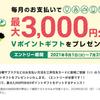 三井住友カード 定期支払新規利用1カテゴリーにつき500円相当還元(最大還元3,000円相当)