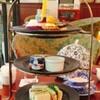 パルテールさんのハロウィンアフタヌーンティーセット/金属に見えるケーキ