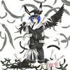 羽根+黒兎