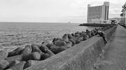 ぶらフォト #110 息子と海辺を散歩 28mm編