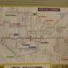 石見交通益田駅発着路線図