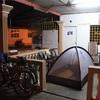 日本の自転車旅ならメッシュテントがおすすめ。カヤライズ2
