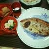 お食い初め♪~両面グリルで鯛の塩焼き~