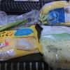 3/20 シュークリームパン107(10%引) 千切りキャベツ100 バナナ94 アスパラ94 他税