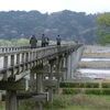 男の一人旅車で関東へ最終日は大井川蓬莱橋へ