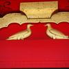 国宝「岩清水八幡宮」(京都府八幡市)の「八」の字が「双鳩」御朱印