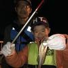知立店 碧南海釣り広場釣果 「堤防釣り教室~夜釣りでセイゴ~」