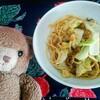 今日のごはん:冷凍野菜ストックで和風ペペロンチーノ