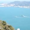 火の山展望台からの眺望:山口県下関市