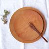 無垢の木の良さを感じるサクラの木のお皿|icura工房
