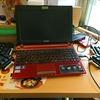 ErgoDox EZキーボードは持ち運びには向いてない。カフェに持っていったら大変なことに(笑)