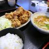 きっと食べきれない人多数!うりきれ御麺のから揚げ定食@鹿児島市中山町