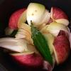 豚肉と林檎のスパークリング甘酒シチュー