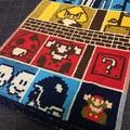 ドットマリオのタオルを買ったよ!