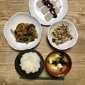 【料理初心者奮闘記】その男、42歳にして台所に立つ! 210912  麻婆茄子(マーボチェズ)なすとひき肉の辛味みそ炒め他4品を作った話し。