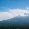 河口湖のカチカチ山ロープウェイの頂上から見る富士山は絶景でした!