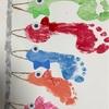 【足形アート】家族の成長記録に!足形で鯉のぼりを作ろう!