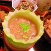 冬瓜と蕎麦米のとろとろスープ