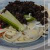 ごま肉味噌で盛岡じゃじゃ麺風 ジャージャー麺とはまた違う茹で汁までうっまーい東北の味