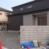 ◆愛知県春日井市のモダンな外構工事◆駐車場コンクリート工事