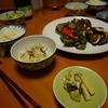 2016年10月3日(月)夕食