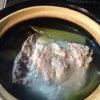 土鍋で東坡肉 ( トンポーロー )