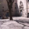 【無数の砲弾の跡が今も残る教会】バルセロナ