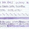 #0175 GRAF VON FABER-CASTEL Violet Blue