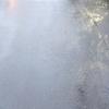 雨の中の女性ライダーさん ジムカーナのようなライディング